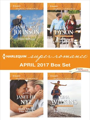 cover image of Harlequin Superromance April 2017 Box Set